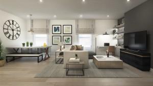 CW living room